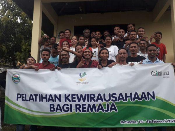 Kawula Muda Mitra Child Fund Belajar Wirausaha Berbasis Desa Di Detusoko Barat