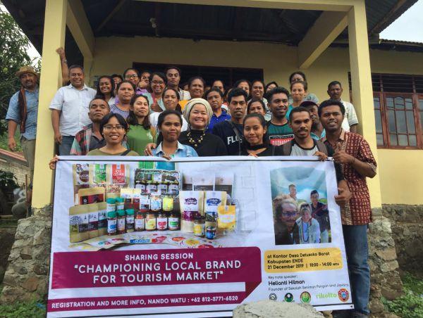 Bidik Standar Premium Pasar Wisata Bumdes Au Wula Detusoko Barat Gandeng Javara Indonesia